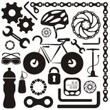 Bike icon Royalty Free Stock Photography
