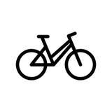 Bike icon royalty free illustration