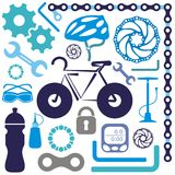 Bike icon Royalty Free Stock Photo