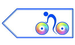 Bike icon Royalty Free Stock Image