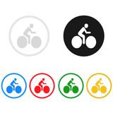 Bike icon,sing,illustration. Bike icon,sing,best illustration Royalty Free Stock Photos