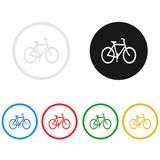 Bike icon,sing,illustration. Bike icon,sing,best illustration Stock Image