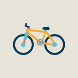 Bike icon. Royalty Free Stock Images