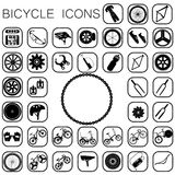 Bike icons Royalty Free Stock Images