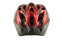 Bike il casco Fotografie Stock