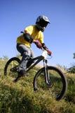 Bike il corridore Fotografie Stock