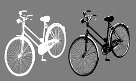 Bike Illustration Stock Photos