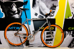 Bike at the ISPO Bike in Munich, Germany Royalty Free Stock Images