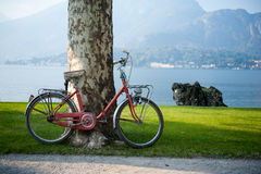 Bike in Italy Stock Photo