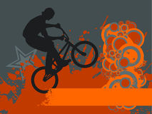 Bike jump Royalty Free Stock Photos