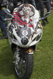Bike at the killarney custom show. Custom bikes at the motorbike show in killarney county kerry ireland Stock Photo
