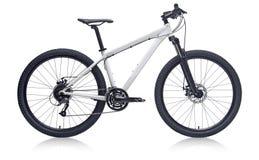 bike la prospettiva biking della montagna delle mani della foresta del fuoco del campo di profondità del ciclista poco profonda immagini stock