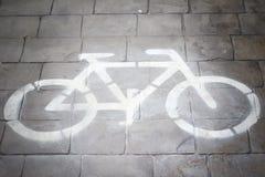 Free Bike Lane Royalty Free Stock Photography - 57008147