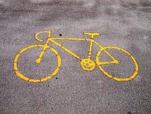 Bike lane. An image of bike path Stock Images