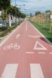 Bike lane Royalty Free Stock Photos