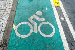 Bike lane Stock Photos