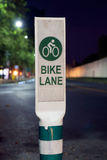 Bike lane. Stock Photo