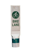 Bike lane. Royalty Free Stock Photo