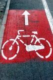 Bike lane 2 Royalty Free Stock Photo