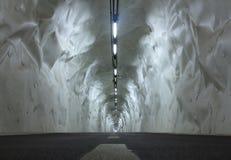 Bike lane tunnel Morlans, Donostia. Stock Photos