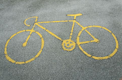 Bike   Lanes Stock Image