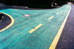 Bike lanes Stock Image