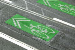 Bike Lanes Stock Images