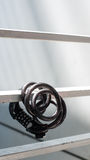The bike lock. Help prevent your bike from being stolen, lost Stock Images