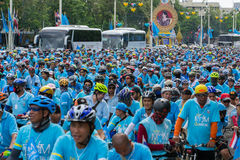 Bike For mom Event in Thailand Royalty Free Stock Image