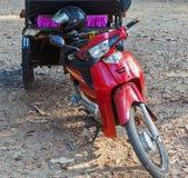 Asian moto rickshaw Taxi Tuk Tuk. Bike moto rickshaw Tuk Tuk Asia Stock Images