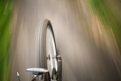 Bike moving Royalty Free Stock Photos