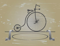 Bike my great-grandfather Royalty Free Stock Image