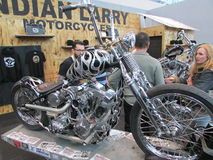 Bike. 2015 New York International Auto Show. Stock Photo