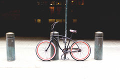 Bike of NYC. Is waiting for the ride Stock Photography