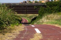 Bike o trajeto Imagens de Stock Royalty Free
