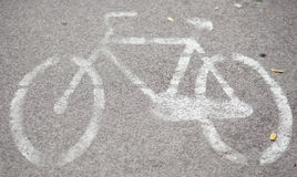 Bike painted Royalty Free Stock Image