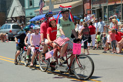 Bike in Parade Stock Photos