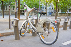Bike in Paris Royalty Free Stock Images