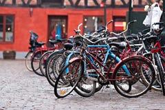Bike park Stock Photo