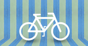Bike park background design Royalty Free Stock Photo