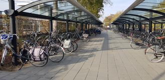 Bike park stock photos