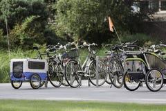 Bike_parking foto de stock
