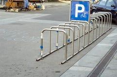 Bike parking Royalty Free Stock Photos
