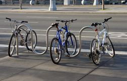 Bike Parking Stock Photos