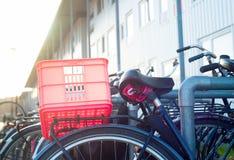 Bike parking, Amsterdam Royalty Free Stock Photos