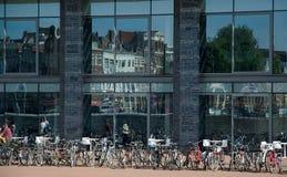 Bike parking in Amsterdam Office
