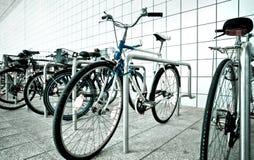 Bike parking area Stock Photography
