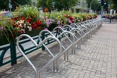 Bike parking area Stock Image