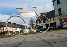 Bike parking Royalty Free Stock Photo