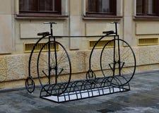 Bike parking Royalty Free Stock Photography